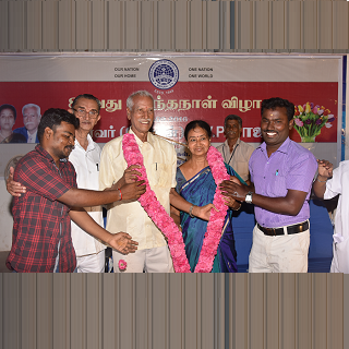 Founder Dr. (Capt) D.V.P Raja 80th Birthday